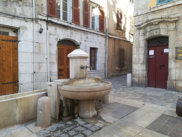 La fontaine de la Convention