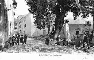 La place de la Fontaine