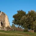 Les restes du pigeonnier carré de Tourris - Cécile Di Costanzo