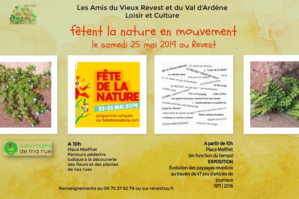 Invitation à la Fête de la nature